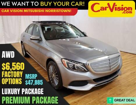 2015 Mercedes-Benz C-Class for sale at Car Vision Mitsubishi Norristown in Trooper PA