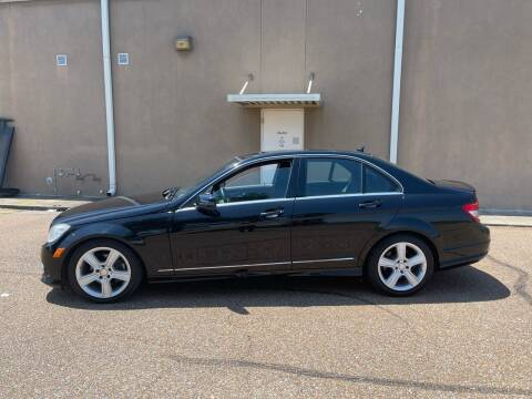 2010 Mercedes-Benz C-Class for sale at The Auto Toy Store in Robinsonville MS