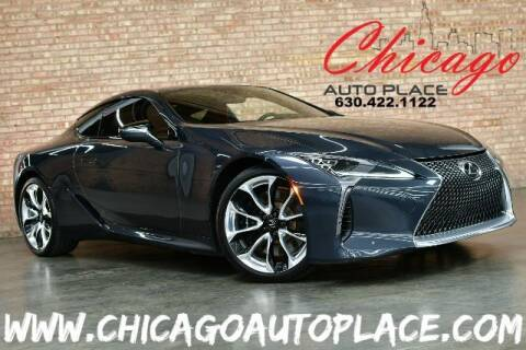 2018 Lexus LC 500 for sale at Chicago Auto Place in Bensenville IL