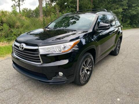 2016 Toyota Highlander for sale at Speed Auto Mall in Greensboro NC