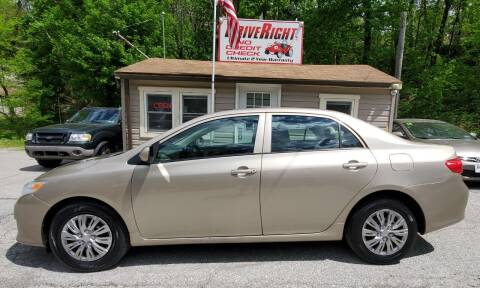 2009 Toyota Corolla for sale at DriveRight Autos South York in York PA