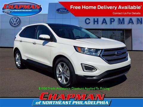 2018 Ford Edge for sale at CHAPMAN FORD NORTHEAST PHILADELPHIA in Philadelphia PA