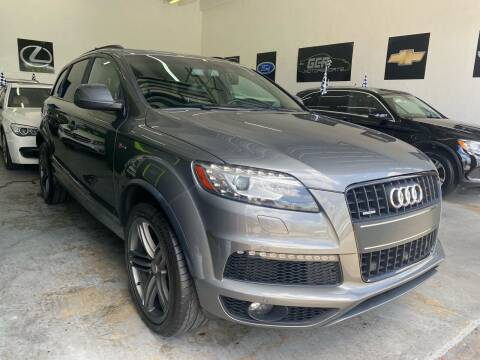 2015 Audi Q7 for sale at GCR MOTORSPORTS in Hollywood FL