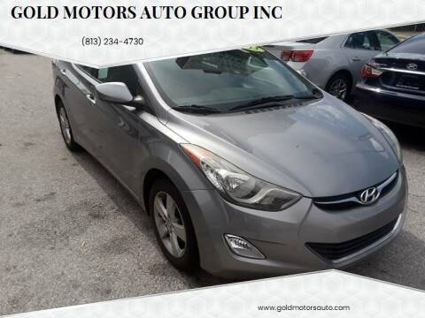 2013 Hyundai Elantra for sale at Gold Motors Auto Group Inc in Tampa FL