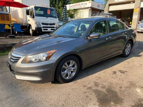 2012 Honda Accord for sale at White River Auto Sales in New Rochelle NY