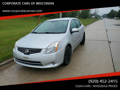 2010 Nissan Sentra for sale at CORPORATE CARS OF WISCONSIN in Sheboygan WI