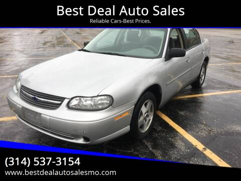 2004 Chevrolet Classic for sale at Best Deal Auto Sales in Saint Charles MO