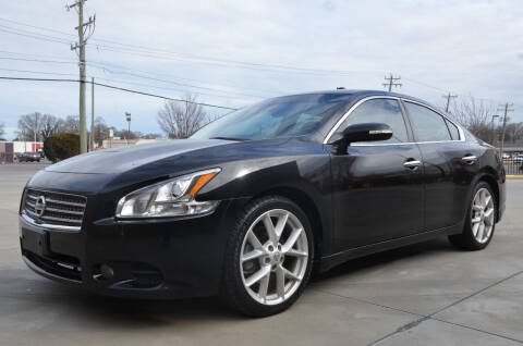 2009 Nissan Maxima for sale at Wheel Deal Auto Sales LLC in Norfolk VA
