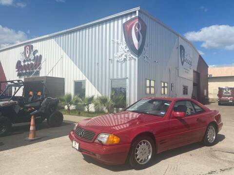 1997 Mercedes-Benz SL-Class for sale at Barrett Auto Gallery in San Juan TX