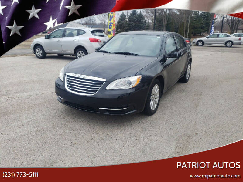 2012 Chrysler 200 for sale at Patriot Autos in Muskegon MI