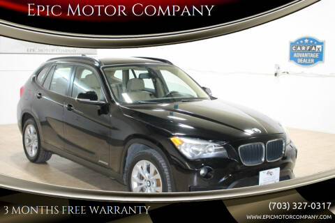 2013 BMW X1 for sale at Epic Motor Company in Chantilly VA