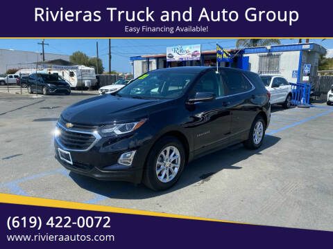 2021 Chevrolet Equinox for sale at Rivieras Truck and Auto Group in Chula Vista CA