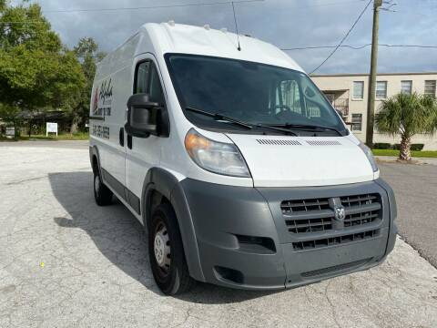 2018 RAM ProMaster Cargo for sale at LUXURY AUTO MALL in Tampa FL