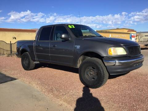 2002 Ford F-150 for sale at SPEND-LESS AUTO in Kingman AZ