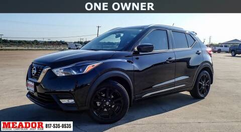 2020 Nissan Kicks for sale at Meador Dodge Chrysler Jeep RAM in Fort Worth TX