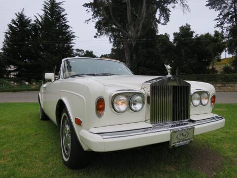 1986 Rolls-Royce Corniche for sale at Milpas Motors in Santa Barbara CA