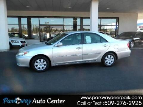 2003 Toyota Camry for sale at PARKWAY AUTO CENTER AND RV in Deer Park WA
