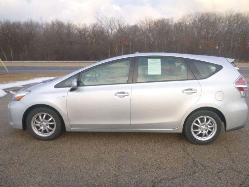 2015 Toyota Prius v for sale at NEW RIDE INC in Evanston IL