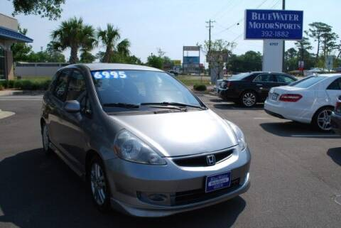 2007 Honda Fit for sale at BlueWater MotorSports in Wilmington NC