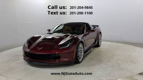 2017 Chevrolet Corvette for sale at NJ State Auto Used Cars in Jersey City NJ