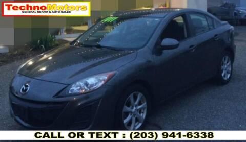 2011 Mazda MAZDA3 for sale at Techno Motors in Danbury CT