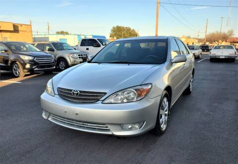 2005 Toyota Camry for sale at Image Auto Sales in Dallas TX