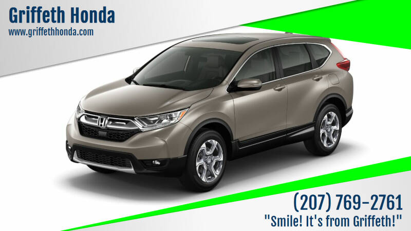 2018 Honda CR-V for sale at Griffeth Honda - Pre Owned in Presque Isle ME