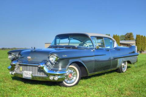 1957 Cadillac Fleetwood for sale at Hooked On Classics in Watertown MN