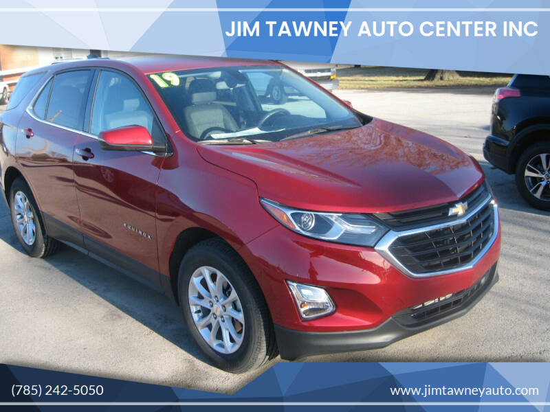 2019 Chevrolet Equinox for sale at Jim Tawney Auto Center Inc in Ottawa KS