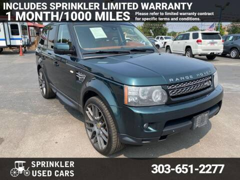 2013 Land Rover Range Rover Sport for sale at Sprinkler Used Cars in Longmont CO