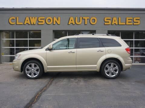 2010 Dodge Journey for sale at Clawson Auto Sales in Clawson MI