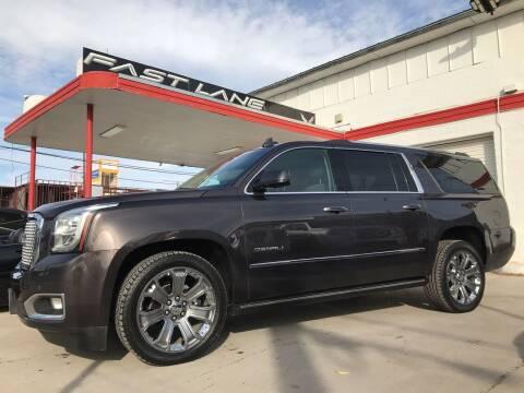 2016 GMC Yukon XL for sale at FAST LANE AUTO SALES in San Antonio TX
