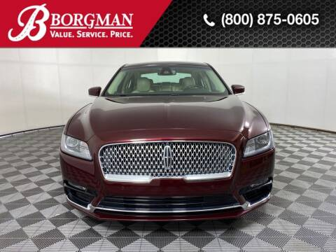 2017 Lincoln Continental for sale at BORGMAN OF HOLLAND LLC in Holland MI