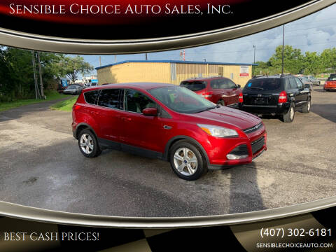 2014 Ford Escape for sale at Sensible Choice Auto Sales, Inc. in Longwood FL