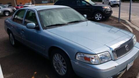 2010 Mercury Grand Marquis for sale at Sunrise Auto Sales in Stacy MN