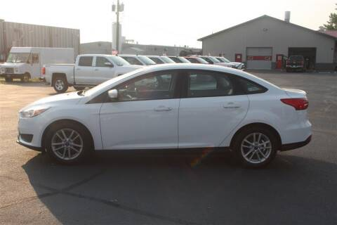 2017 Ford Focus for sale at SCHMITZ MOTOR CO INC in Perham MN