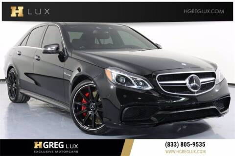 2014 Mercedes-Benz E-Class for sale at HGREG LUX EXCLUSIVE MOTORCARS in Pompano Beach FL