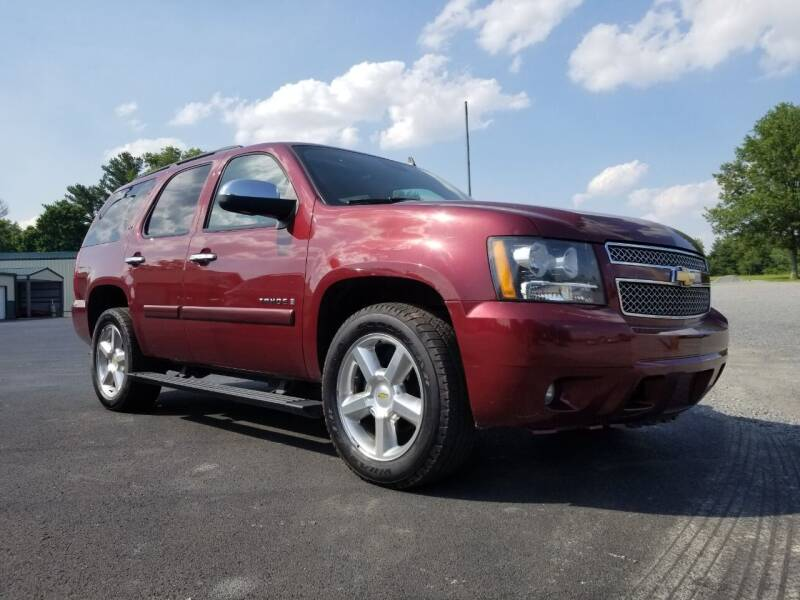 2008 Chevrolet Tahoe for sale at Ridgeway's Auto Sales in West Frankfort IL