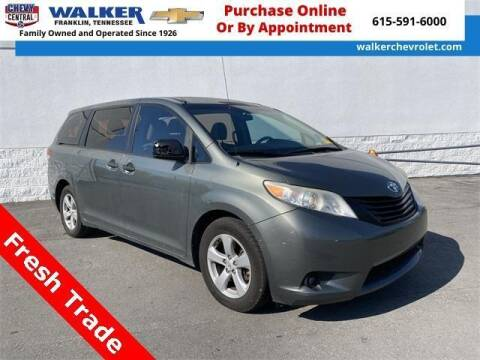 2011 Toyota Sienna for sale at WALKER CHEVROLET in Franklin TN
