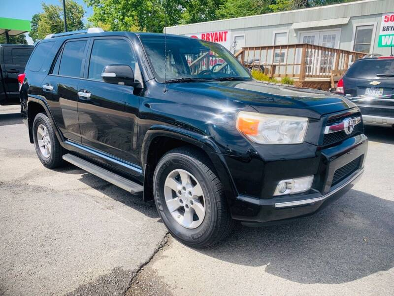 2011 Toyota 4Runner for sale at BRYANT AUTO SALES in Bryant AR