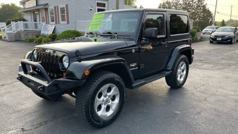 2013 Jeep Wrangler for sale at RBT Automotive LLC in Perry OH