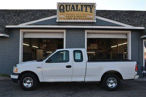 2002 Ford F-150 for sale at Quality Pre-Owned Automotive in Cuba MO