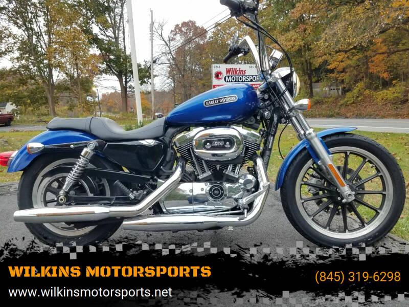 2010 Harley-Davidson Sportster 1200 for sale at WILKINS MOTORSPORTS in Brewster NY
