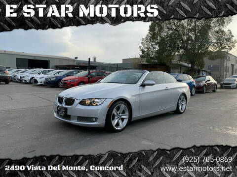 2008 BMW 3 Series for sale at E STAR MOTORS in Concord CA