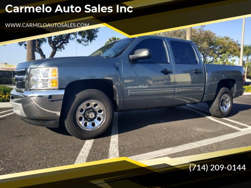 2011 Chevrolet Silverado 1500 for sale at Carmelo Auto Sales Inc in Orange CA