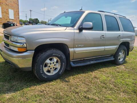 2003 Chevrolet Tahoe for sale at BROTHERS AUTO SALES in Eagle Grove IA