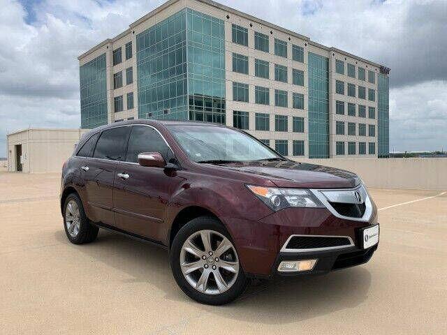2012 Acura MDX for sale at SIGNATURE Sales & Consignment in Austin TX