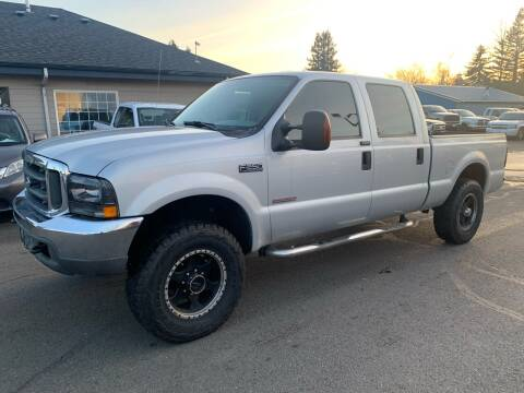 2004 Ford F-250 Super Duty for sale at South Commercial Auto Sales in Salem OR