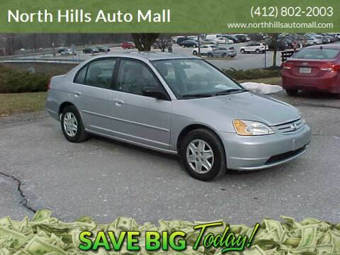 2003 Honda Civic for sale at North Hills Auto Mall in Pittsburgh PA
