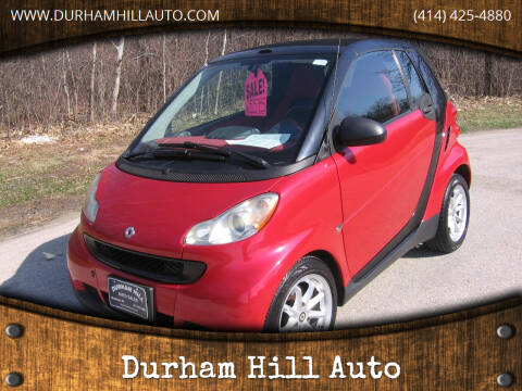 2009 Smart fortwo for sale at Durham Hill Auto in Muskego WI
